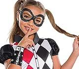 Rubie's DC Superhero Girls Harley Quinn Accessory Kit, Black/White/Multicolor