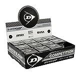 Dunlop D SB Comp 12X1Bbx Palle Squash, Multicolore