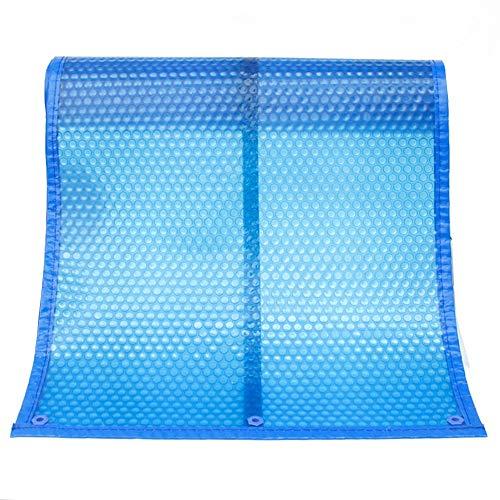 JLXJ Cobertor Solar Piscinas Bubble Solar Pool Cover, Rectangle Swimming Flotante de Película de Calefacción de Servicio Pesado, para Piscinas Inflables, Piscinas Enterradas, 400µm