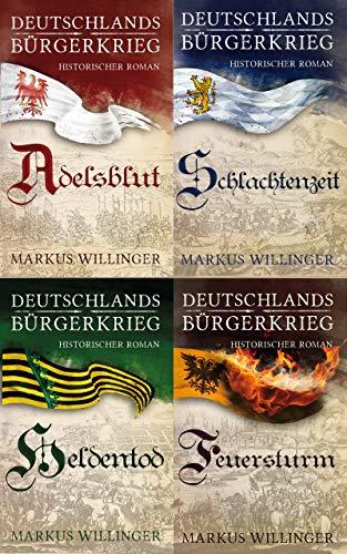 Deutschlands Bürgerkrieg -  Sammelband ( Historische Romane Kindle Unlimited )