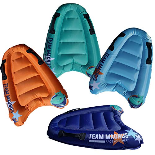 TEAM MAGNUS Devilfish Bodyboard Race Pack - 4 Tablas de Surf inflables