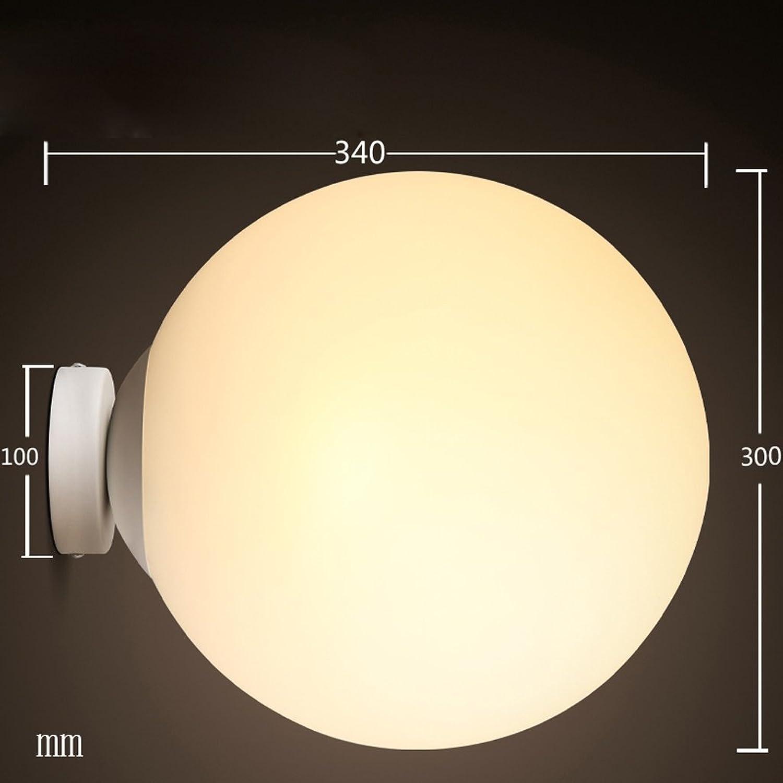 A Nordic Schlafzimmer Wand Korridor Wandleuchte Nachttischlampe Mode Einfache Led Wandleuchten (Farbe   Warmes Licht-L)