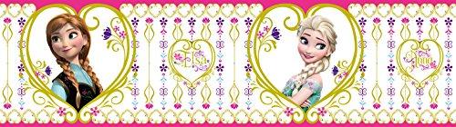 AG Design Disney Die Eiskönigin Wand Sticker, Selbstklebende Folie, Mehrfarbig, 500 x 14 cm