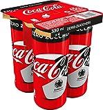 Coca-Cola Zero Zuccheri, Lattine, 4 x 330ml