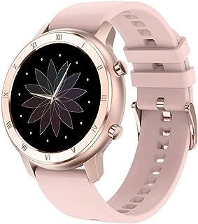CIVIKY Reloj Inteligente para Mujer, Pulsera Resistente al Agua IP68 con Monitor de frecuencia cardíaca, Reloj Inteligente Deportivo con monitorización del sueño