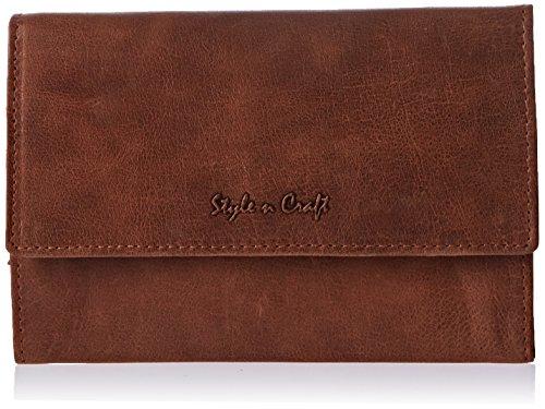 Style n Craft 300955-OK - portafolios de mano para mujer (piel de roble)