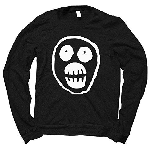 Clique Clothing The Mighty Boosh Face Sweatshirt (Black, L)