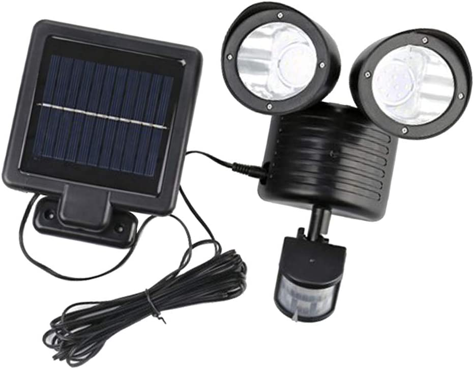 1500LM Solar Lights Outdoor LED Light Motion Security Gorgeous Sensor 6 ! Super beauty product restock quality top!