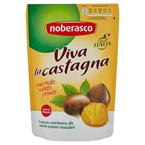 Viva la Castagna  Noberasco100 g Origine Italiana- Castagne Pelate, Morbide, Subito Pronte