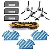 Zealing - aspirapolvere, ricambi accessori compatibili con aspirapolvere Ecovacs DE5G-KTA Deebot OZMO 900 901 Robot aspirapolvere