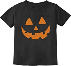 Pumpkin Face Jack O' Lantern Halloween Costume Toddler/Infant Kids T-Shirt