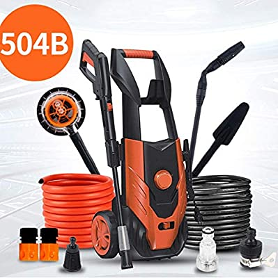 High Pressure Washer 1600W 135 Bar Patio Cleaner Portable High Power Washer With Accessories Jet Washer Lightweight Car Wash Kit Power Washer,For Home/Garden/Decking/Vehicles,503B-Group1 dljyy by dljxx