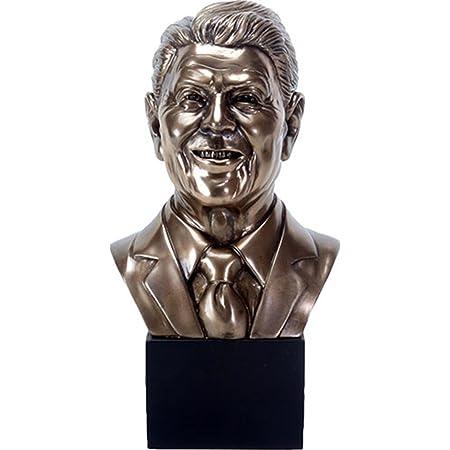 President Bust Statue Sculpture Figure Ronald Reagan U.S Gift Boxed