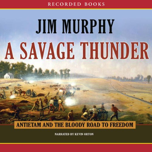 A Savage Thunder audiobook cover art