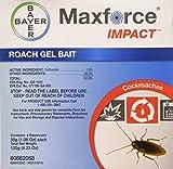 Bayer 80882068 Impact Roach Bait Maxforce Gel, Four 30g Syringes