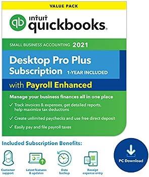 QuickBooks Pro Plus 2021 w/Enhanced Payroll (Download)