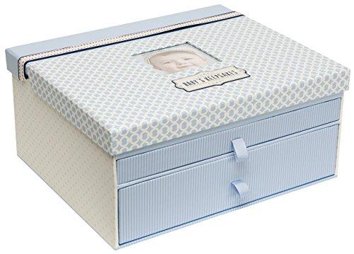 C.R. Gibson Blue Baby Boy Keepsake Box, 12.5'' W x 10.25'' H