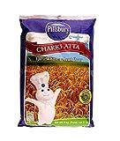 Pillsbury Chakki Atta | Harina de Trigo Integral 100% | Llena de Fibra | Haz Rotis y Chappatis | Harina Tradicional de la India | Nutritiva | Vegetariana | Bolsa de 5 kg