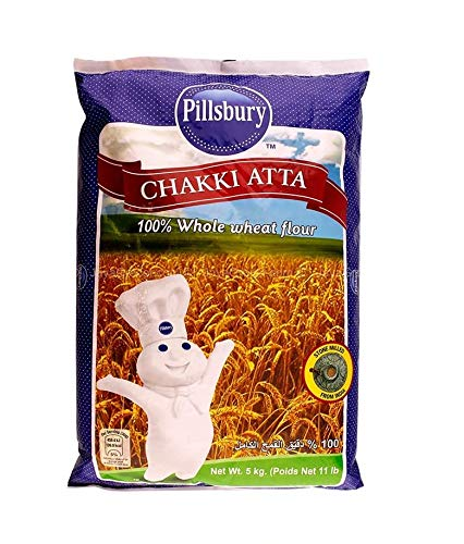 Canada Pillsbury Chakki Atta Flour Whole Grain Wheat Flour 9.07kg 20lb