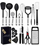 Home Hero Kitchen Utensil Set - 23 Nylon Cooking Utensils - Kitchen Utensils with Spatula - Kitchen...
