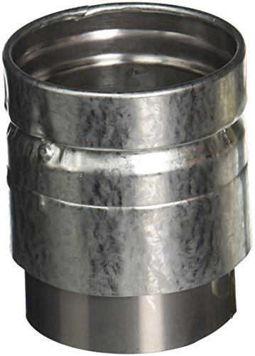 SELKIRK CORP 243240 Rohrverbinder, 7,6 cm, schwarz