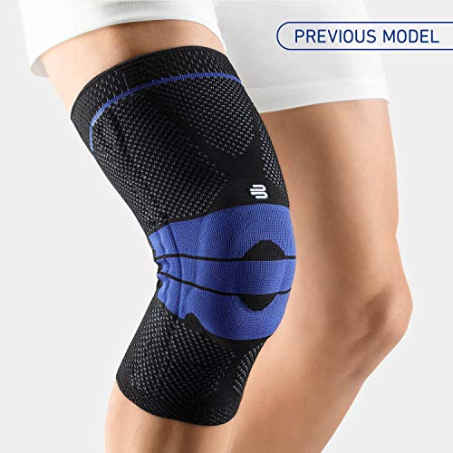 Bauerfeind - GenuTrain - Knee Support Brace - Targeted Support for Pain Relief and Stabilization of The Knee - Size 6 - Color Black