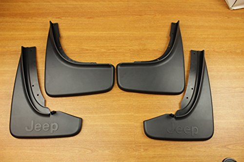 Jeep Grand Cherokee Summit Front & Rear Mud Flap Splash Guard Set OEM