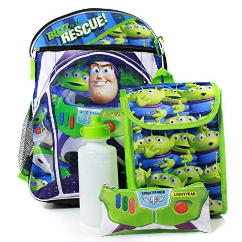 Toy Story Buzz Lightyear Backpack 5 Piece Set
