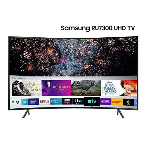 Samsung 49-inch RU7300 Curved HDR Smart 4K TV