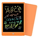 Orsen LCD Writing Tablet 10 Inch, Colorful Doodle Board Drawing Tablet, Erasable Reusable Writing Pad, Educational Gifts for 2-6 Year Old Girls Boys(Orange)