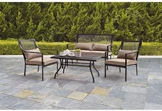 Best mainstays bellingham 4-piece patio conversation set Reviews