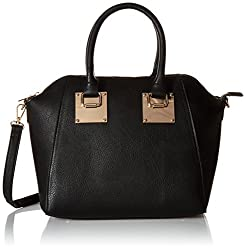e0353bbcdd8a For a classy leather-look structured tote that will work for travel at a  very reasonable price check out this Call It Spring bag. The shoulder strap  is ...