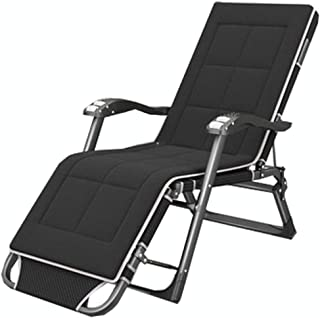 LLLD Oversized Padded Zero Gravity Chair Armrest XXL Folding Patio Lounge Recliner for Outdoor Deck Porch 300kg Weight Cap...