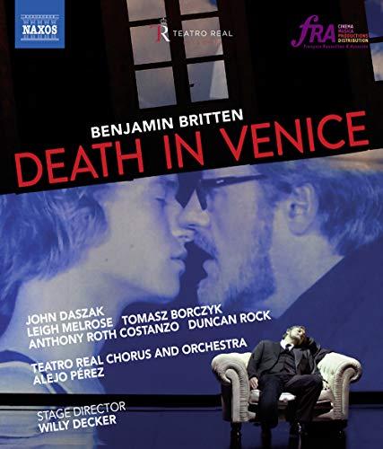 Britten, B.: Death in Venice [Opera] (Teatro Real, 2014) (Blu-ray, HD) [Blu-ray]
