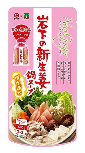 宮島醤油 岩下の新生姜鍋スープ 600g ×2袋