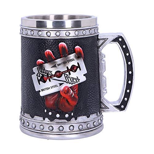 HMB Judas Priest - Jarra de cerveza con logo en 3D (500 ml)