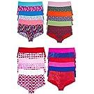 Sexy Basics Women's 24 Pack Boyshort No Panty Line Seamless Underwear