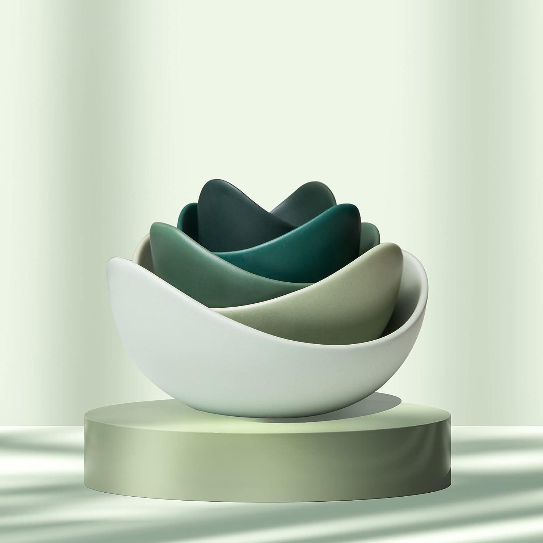 Farwix Lotus Ceramic Bowl Set Decorative Home High quality Ranking TOP1 Sa for Decor Bowls