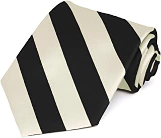 black and ivory tie