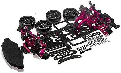 XUNJIAJIE 1 Set CNC Aluminium&Kohlefaser 1 10 Sakura D4 CS Sports RWD 2WD Car Kit für 3Racing Sakura D4 RWD Drift Car