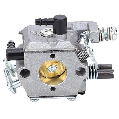 Carburador de motosierra Carburador resistente Carb Fit Kit de ajuste de tapa de aceite de combustible giratorio de 180 grados Piezas de motosierra Carburador para motosierra de gasolina IE52