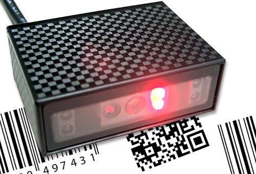Arkscan AS602 1D & 2D Barcode-Scanner mit Fester Halterung für USB-Geräte, perfekt für Kiosk, Android, Windows