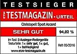 Christopeit Rudergerät Accord, Silber/schwarz, 132x159x70 cm - 10