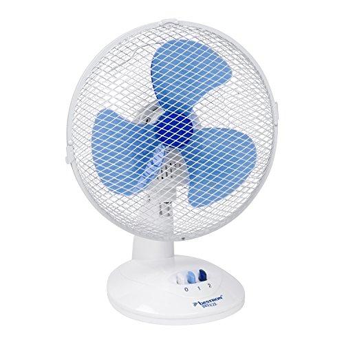 Bestron DDF27W Ventilatore da Tavolo, 220 V, Bianco, 27x21x35