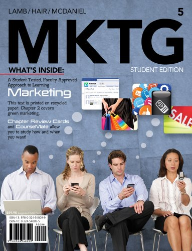Bundle: MKTG (with Marketing CourseMate with eBook Printed Access Card), 5th + 4LTR Press Print Option Sticker