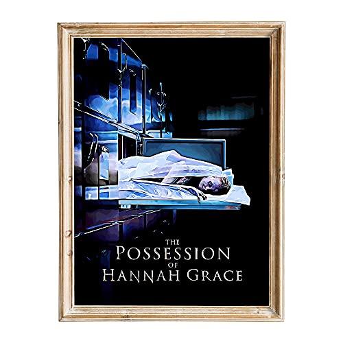 FANART369 The Possession of Hannah Grace #4 Poster A3 Größe Movie Poster Original Fanart Wall Art Print Decor 29,7 x 42 cm randlos