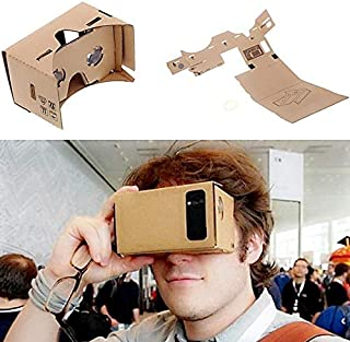 DIY Google Cardboard Virtual Reality VR Mobile Phone 3D Viewing Glasses for 5.0\