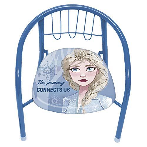 Arditex WD12998 Chaise en métal de 35,5 x 30 x 33,5 cm de Disney Frozen II