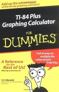 TI-84 Plus Graphing Calculator For Dummies (0764571400) | Amazon price tracker / tracking, Amazon price history charts, Amazon price watches, Amazon price drop alerts