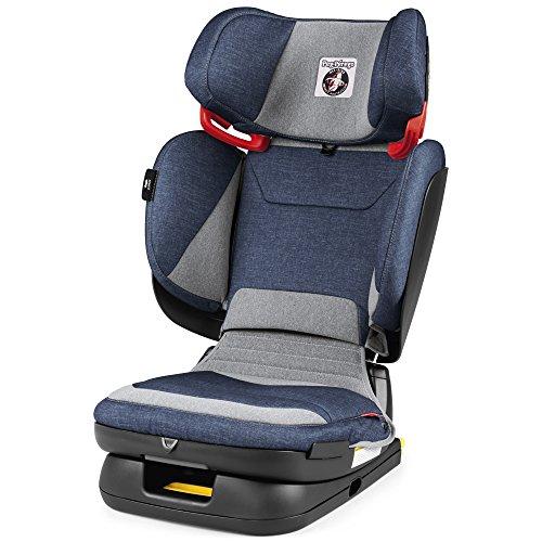 Peg Perego Seggiolino Auto da Viaggio 2-3 Flex, Unisex Bambini, Blu (Urban Denim)